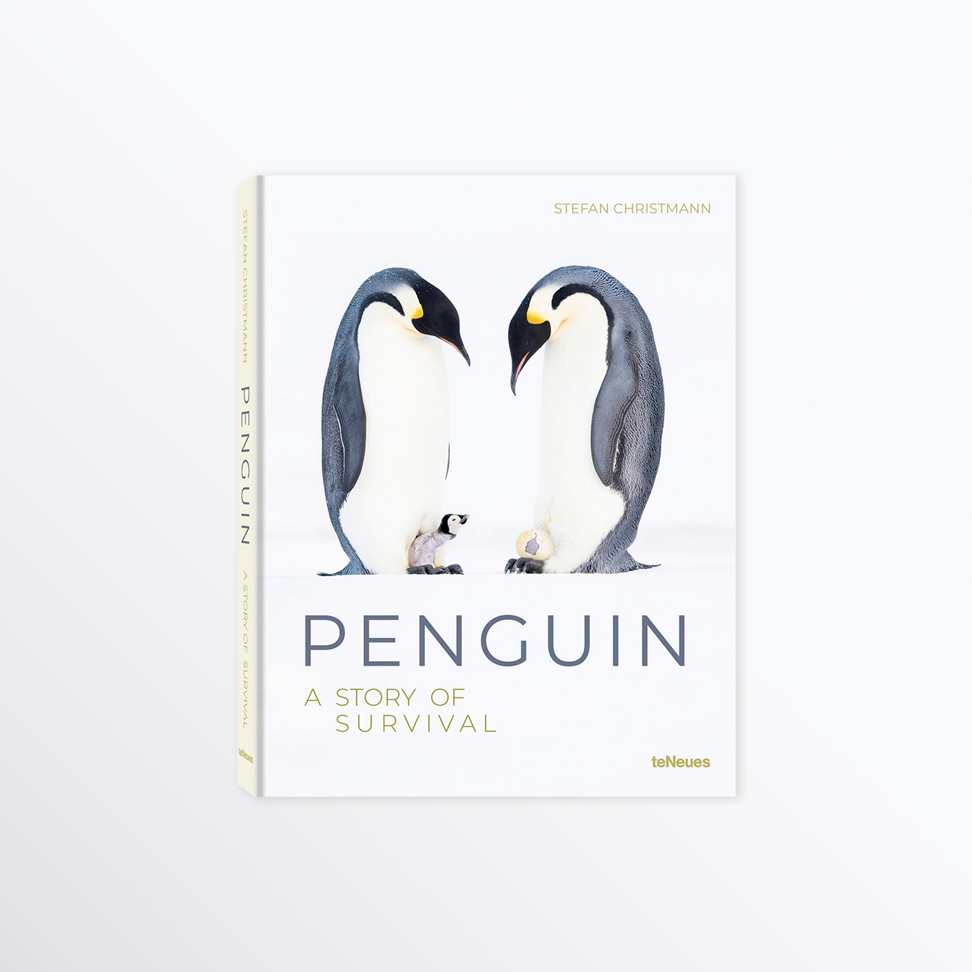 Book Cover Penguin (A Story of Survival)