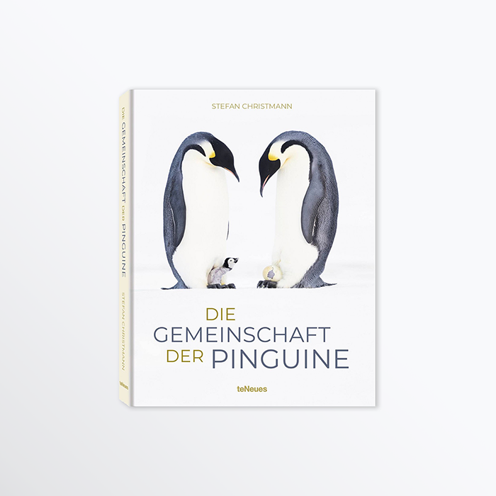 Buch Cover Gemeinschaft der Pinguine
